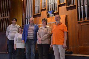 Visite de l'orgue de Créteil